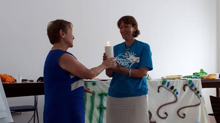Lucia Casella passa il testimone ad Angela Grassi come vicecoordinatore internazionale