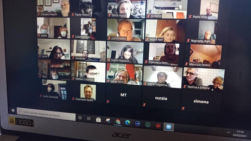 Incontro di formazione online per la provincia Un Fiume di Pace